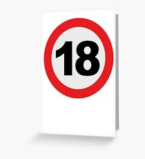 18 Greeting Card
