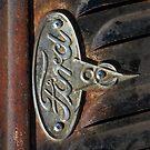Old Ford Emblem - iPhone Case by HoskingInd