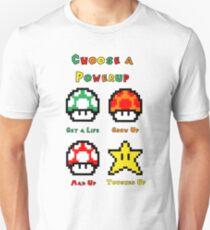 Mario Mushrooms 2 T-Shirt