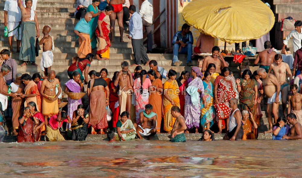 The Ganges by KerryPurnell
