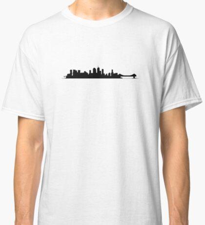 Brisbane Skyline - for light shirts Classic T-Shirt