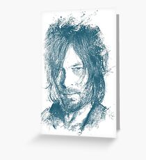 DARYL DIXON Greeting Card