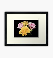 Bunch of Roses Framed Print
