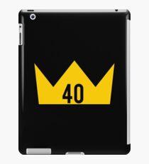 40 King iPad Case/Skin