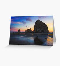 Cannon Beach Seastacks Greeting Card