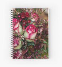 Two Tone Roses Spiral Notebook