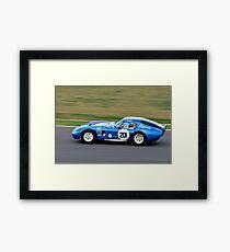 Cobra Daytona Coupe No 201 Framed Print