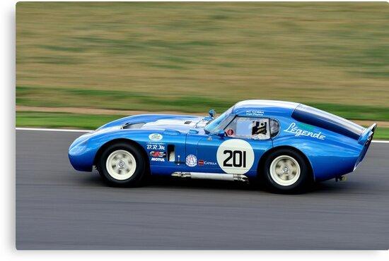 Cobra Daytona Coupe No 201 by Willie Jackson