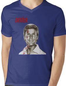 Dexter Mens V-Neck T-Shirt