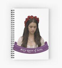 Mary Reign Spiral Notebook