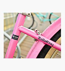 Pink Cruiser Photographic Print
