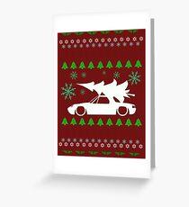 Filth Christmas Pattern Greeting Card