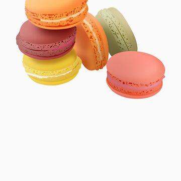 macarons 2 sticker by raffons