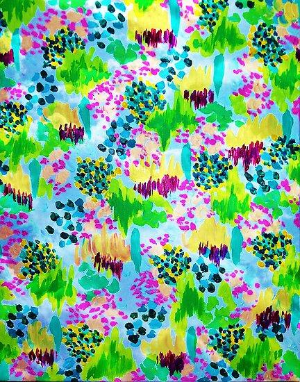 Bright Floral Pattern Tumblr