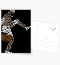 Briefcase Full of Spam (dark bkgd) Postcards