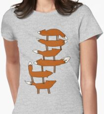Colin Morgan's Fox Tower Shirt Women's Fitted T-Shirt