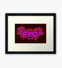 Emo pets Framed Print