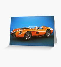 Ferrari 250 Testa Rossa - Vintage Racing Greeting Card