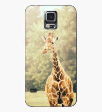 Giraffe Portrait Case/Skin for Samsung Galaxy