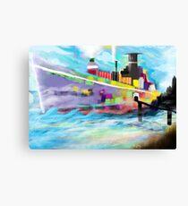 Cargo Ship Canvas Print