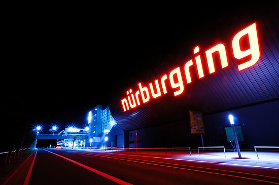 Nürburgring by night von Division