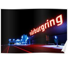 Nürburgring by night Poster