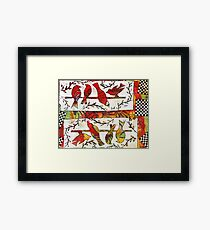 We're All Cousins You Know Framed Print