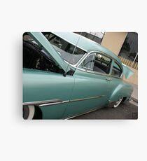 1951 Fleetline; Historical Front Street 12th Annual Car Show, Norwalk, CA USA Canvas Print