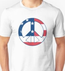 American Peace Symbol T-Shirt