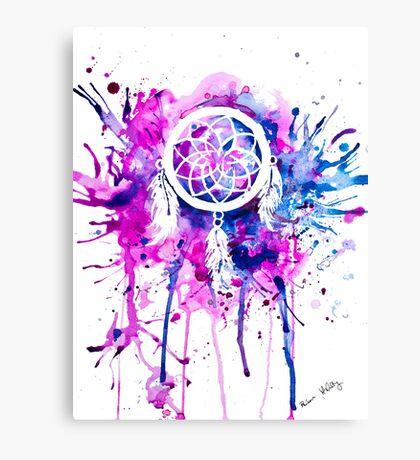 Shaping Dreams (White) Canvas Print