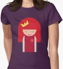 Queen of Moons Charlie (Tee 1) Women's Fitted T-Shirt