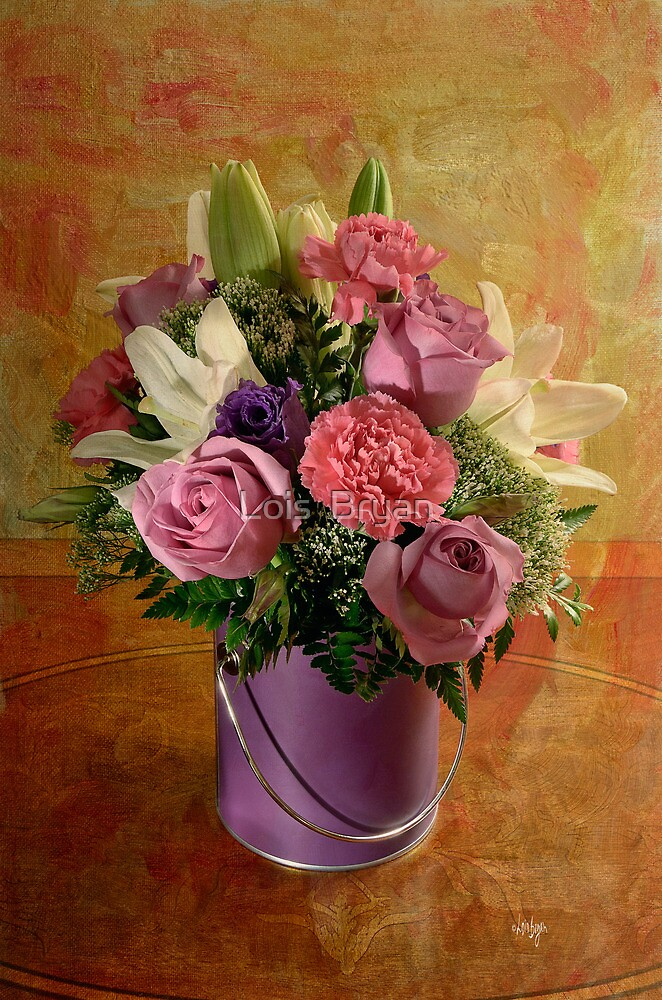 Flowers From A Friend by Lois  Bryan