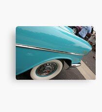 1957 Belair; Historic Front Street 12th Annual Car Show; Norwalk, CA USA Canvas Print