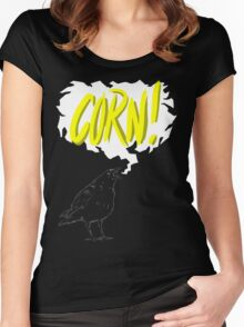 """Corn!"" - A Game of Thrones Women's Fitted Scoop T-Shirt"