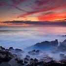 Red Sky Kauai by DawsonImages