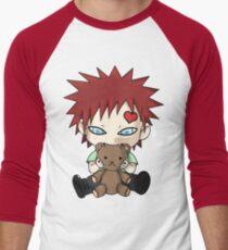 Chibi Love Boy Men's Baseball ¾ T-Shirt