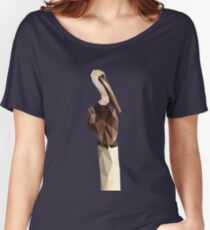Low Poly Pelican Women's Relaxed Fit T-Shirt