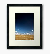 North Yorkshire Cornfield 2 Framed Print