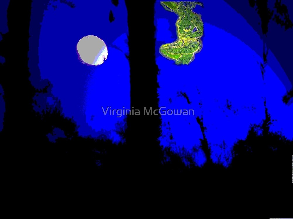 Reaching for the Moon [Hybrid] by Virginia McGowan