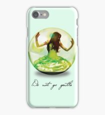 Matched, Do Not Go Gentle iPhone Case/Skin