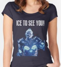 Ice to see you! Women's Fitted Scoop T-Shirt