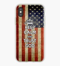 Religious Christian iPhone 6  Case Cover American Flag iPhone Case