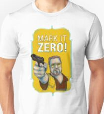 BIG LEBOWSKI- Walter Sobchak- Mark it zero! T-Shirt