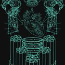 Robot X-Ray Design by thedailyrobot