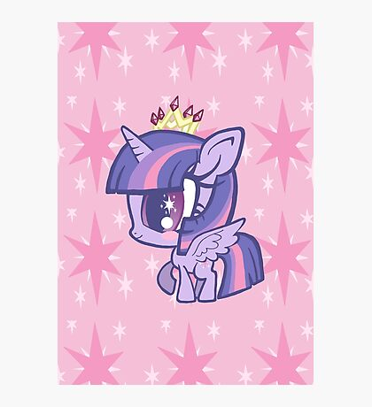 Weeny My Little Pony- Princess Twilight Sparkle Photographic Print