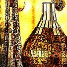 Golden Glass by pat gamwell