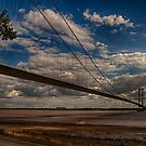 Humber Bridge over the River Hull by Glen Allen