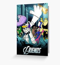 The Justice Friends Greeting Card