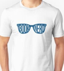 BOOKNERD GLASSES (BLUE) Unisex T-Shirt