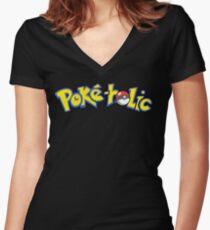 Pokemon Women's Fitted V-Neck T-Shirt